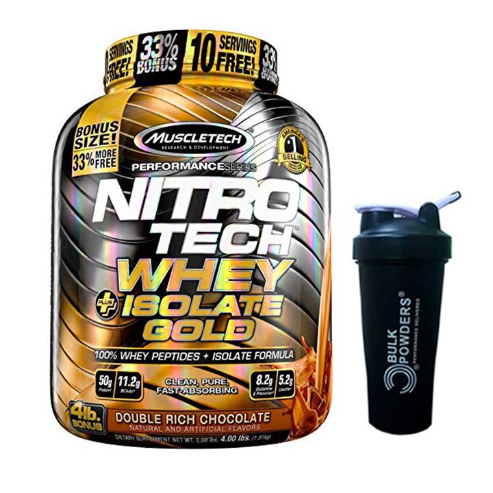Combo Sữa tăng cơ cao cấp Nitro Tech Whey Plus Isolate Gold của MuscleTech hương Chocolate hộp 1.8kg 52 lần dùng + bình lắc... - 1645531 , 9846103741768 , 62_11402400 , 1800000 , Combo-Sua-tang-co-cao-cap-Nitro-Tech-Whey-Plus-Isolate-Gold-cua-MuscleTech-huong-Chocolate-hop-1.8kg-52-lan-dung-binh-lac...-62_11402400 , tiki.vn , Combo Sữa tăng cơ cao cấp Nitro Tech Whey Plus Isolate G