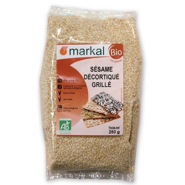 Hạt mè hữu cơ đã tách vỏ Markal 250g