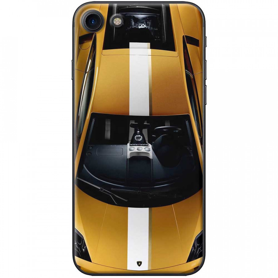Ốp lưng dành cho iPhone 7 mẫu Xe hơi vàng