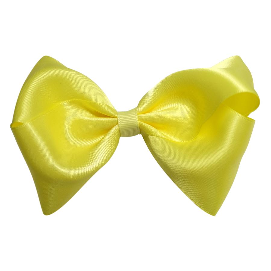 Kẹp Nơ Đại Satin Bé Gái CucKeo Kids T101821 - Vàng
