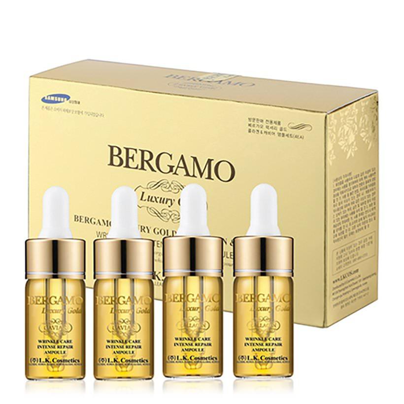 Bộ Tinh Chất Dưỡng Chống Nhăn Và Làm Sáng Da Bergamo Luxury Gold Collagen Serum  Caviar Geo (52ml) - 1329569 , 6775057702033 , 62_5472687 , 400000 , Bo-Tinh-Chat-Duong-Chong-Nhan-Va-Lam-Sang-Da-Bergamo-Luxury-Gold-Collagen-Serum-Caviar-Geo-52ml-62_5472687 , tiki.vn , Bộ Tinh Chất Dưỡng Chống Nhăn Và Làm Sáng Da Bergamo Luxury Gold Collagen Serum  Ca