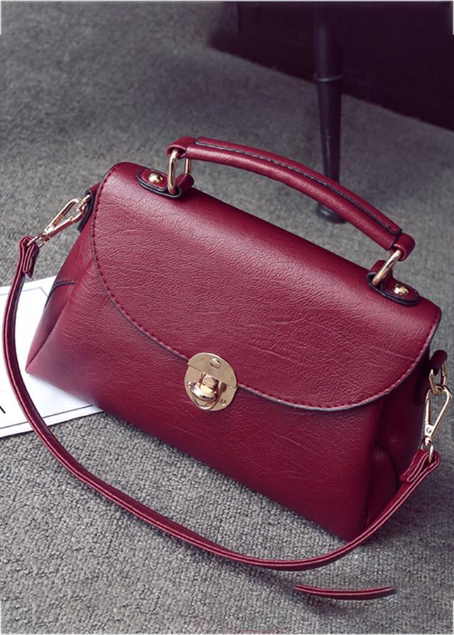 Túi xách nữ da mềm Messenger phong cách Hàn Quốc JLD238