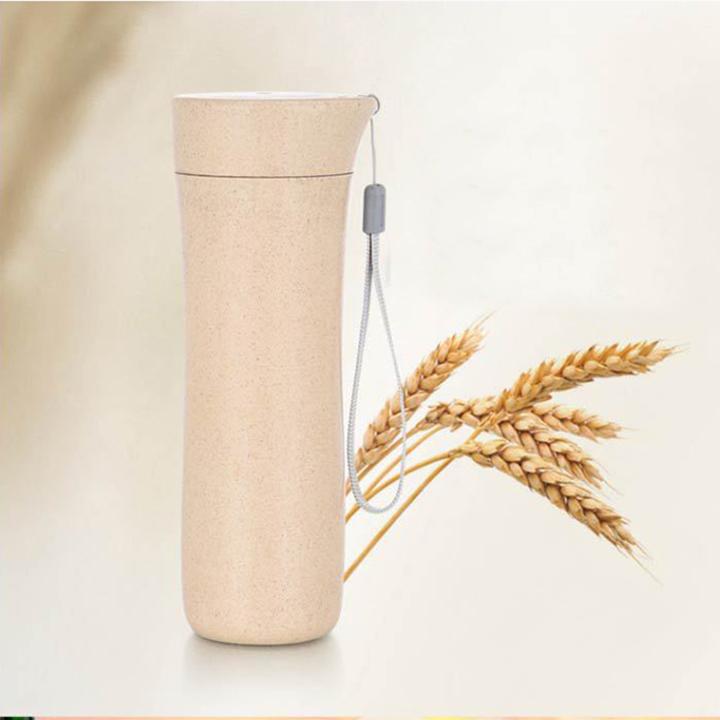 Bình đựng nước học sinh lúa mạch - Màu ngẫu nhiên
