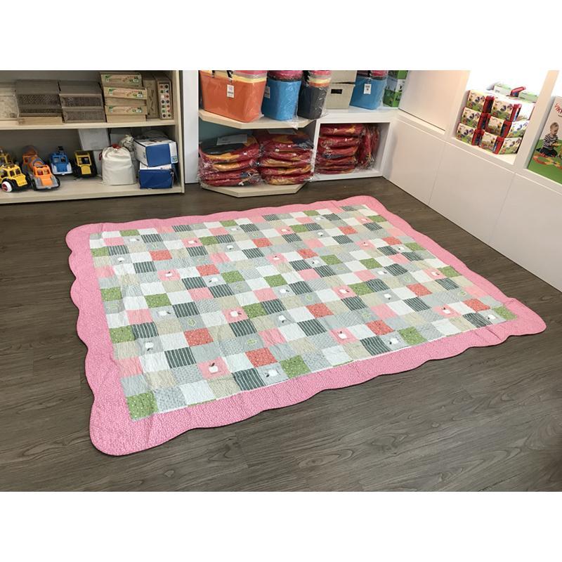 Thảm lót sàn 160x210 - Táo hồng - TLS141