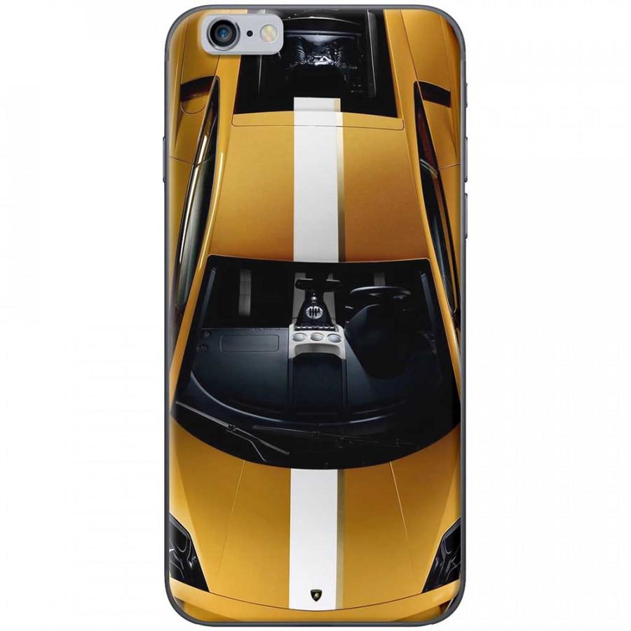 Ốp lưng dành cho iPhone 6, iPhone 6S mẫu Xe hơi vàng
