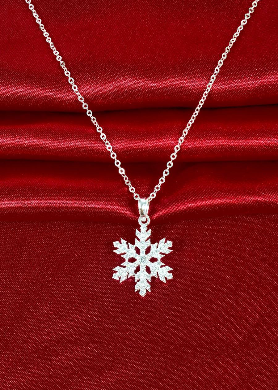 Dây chuyền bạc nữ mặt Bông tuyết 6 cánh PANMILA - Vòng cổ bạc nữ bông tuyết - 1289993 , 5704416984873 , 62_13626185 , 269000 , Day-chuyen-bac-nu-mat-Bong-tuyet-6-canh-PANMILA-Vong-co-bac-nu-bong-tuyet-62_13626185 , tiki.vn , Dây chuyền bạc nữ mặt Bông tuyết 6 cánh PANMILA - Vòng cổ bạc nữ bông tuyết