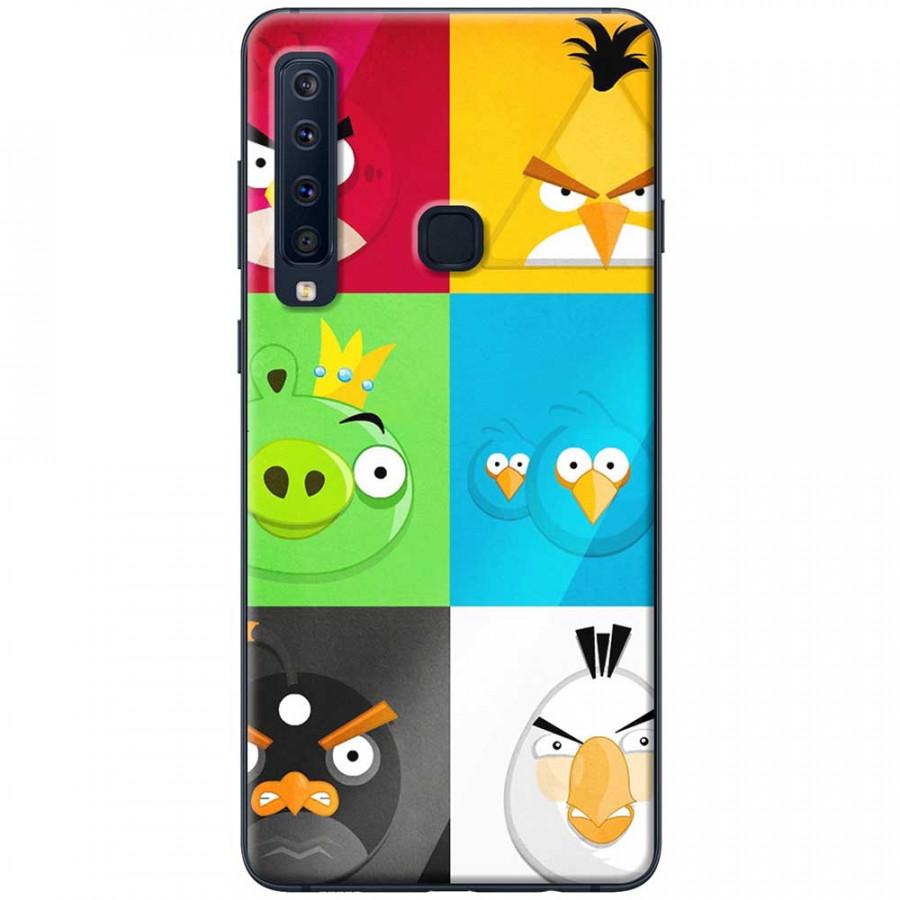Ốp lưng dành cho Samsung Galaxy A9 (2018) mẫu Angry birds