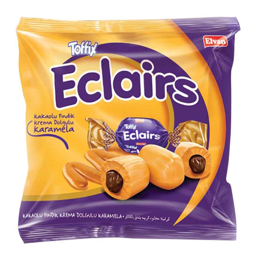 Kẹo Chocolate Eclair Elvan - Tím (300g/Túi) - 1919127 , 4169970486231 , 62_14687346 , 66000 , Keo-Chocolate-Eclair-Elvan-Tim-300g-Tui-62_14687346 , tiki.vn , Kẹo Chocolate Eclair Elvan - Tím (300g/Túi)