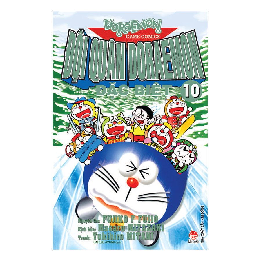 Đội Quân Doraemon Đặc Biệt - Tập 10 (Tái Bản 2019) - 1874789 , 6709176787619 , 62_14273567 , 18000 , Doi-Quan-Doraemon-Dac-Biet-Tap-10-Tai-Ban-2019-62_14273567 , tiki.vn , Đội Quân Doraemon Đặc Biệt - Tập 10 (Tái Bản 2019)