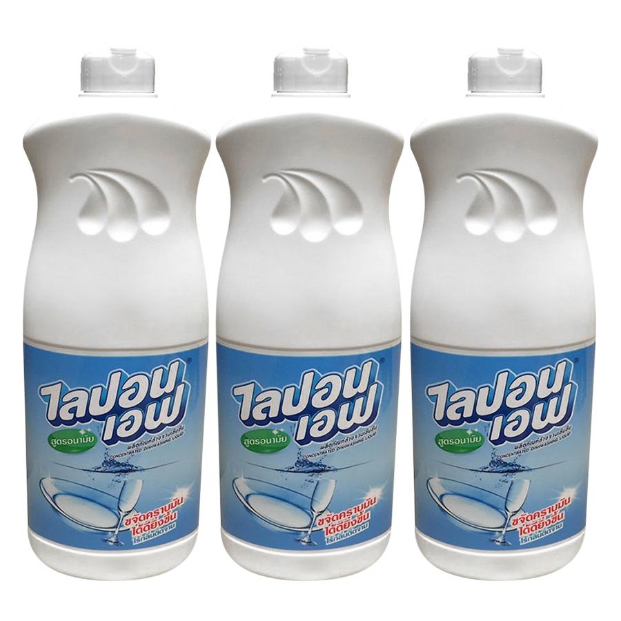 Combo 3 chai nước rửa chén Lipon 800ml