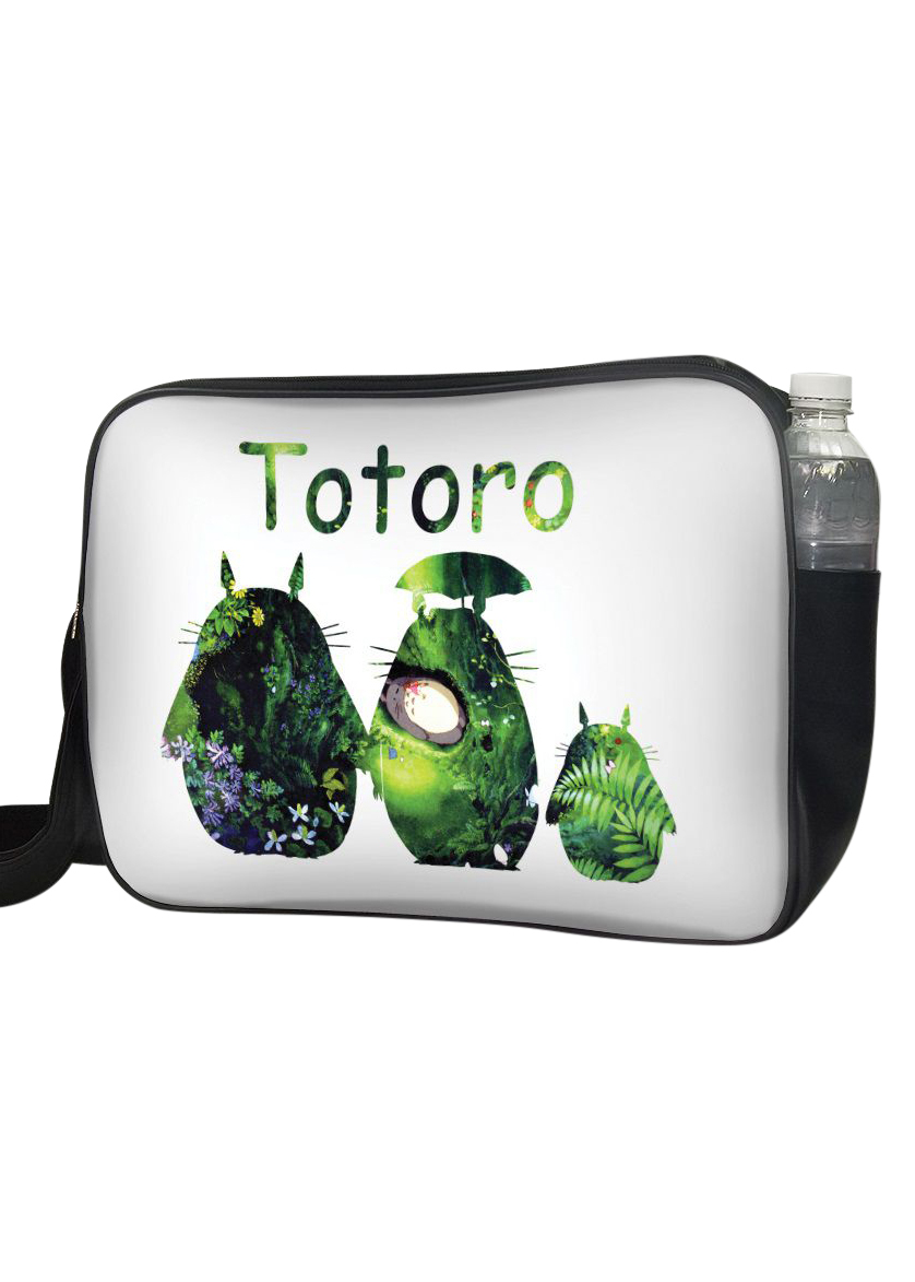 Túi Đeo Chéo Hộp Unisex In Hình Totoro Cây Lá - TCMA232