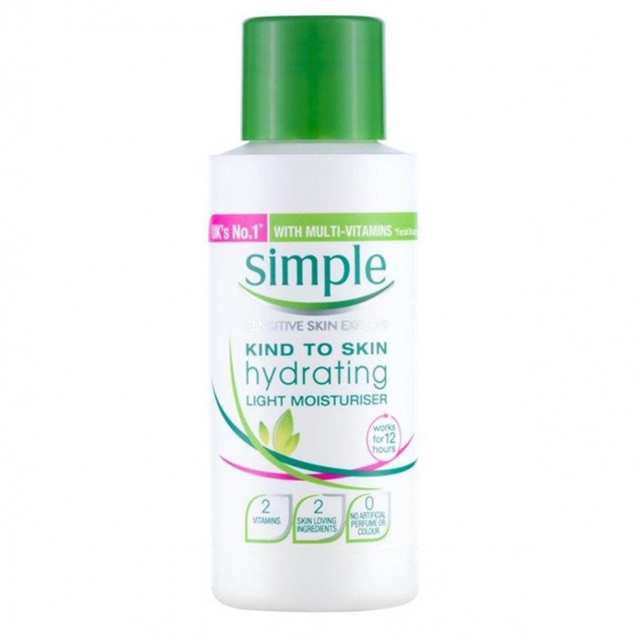 Kem Dưỡng Ẩm Simple Kind To Skin Hydrating Light Moisturiser 50ml