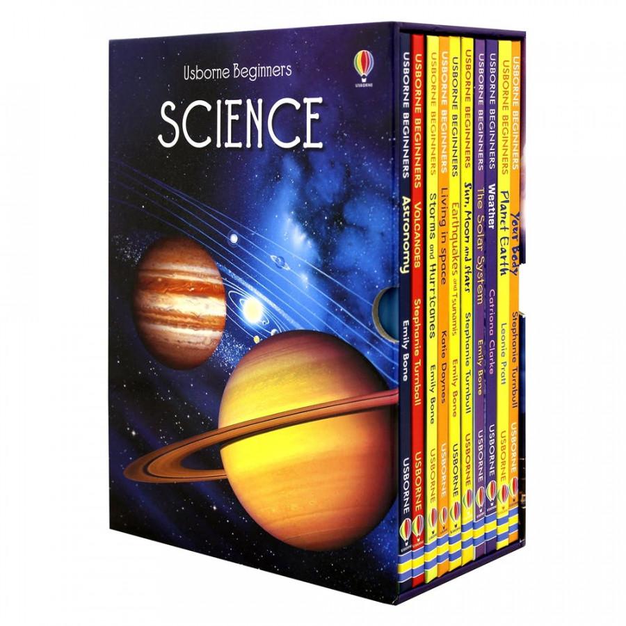 Usborne Beginners Science Collection (Boxset 10 tập)