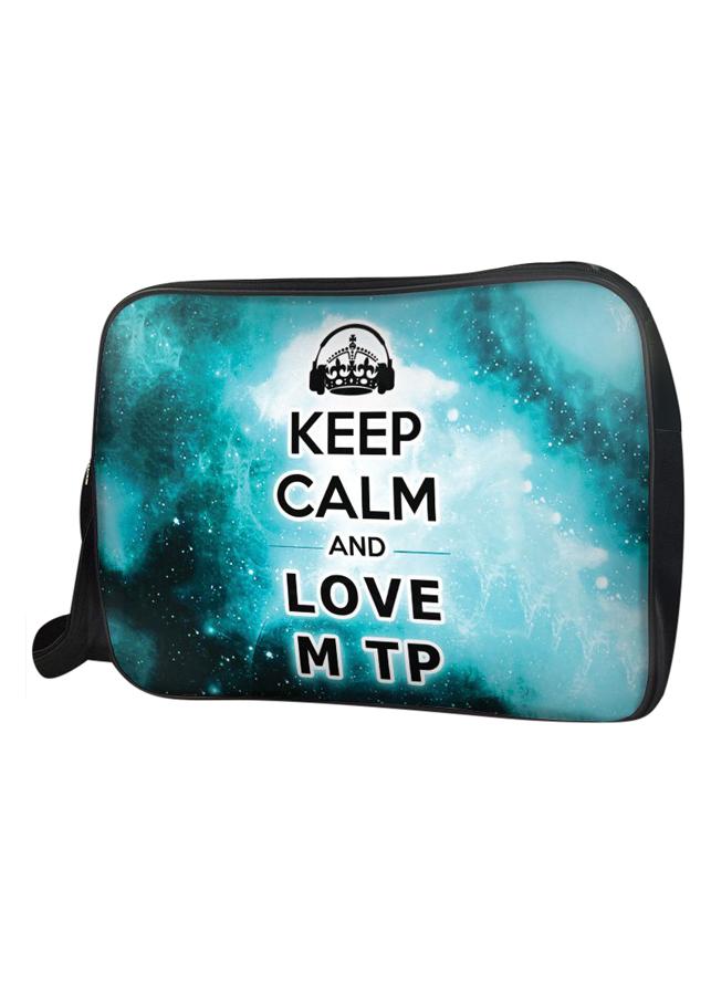 Túi Đeo Chéo Hộp Unisex Keep Calm And Love Sơn Tùng MTP - TCVK002