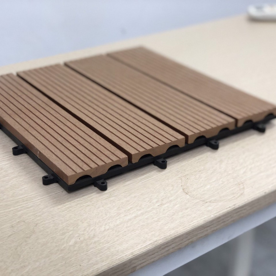 Bộ vỉ sàn gỗ nhựa composite 4 nan - 9843889 , 3570556499438 , 62_17752850 , 20000000 , Bo-vi-san-go-nhua-composite-4-nan-62_17752850 , tiki.vn , Bộ vỉ sàn gỗ nhựa composite 4 nan