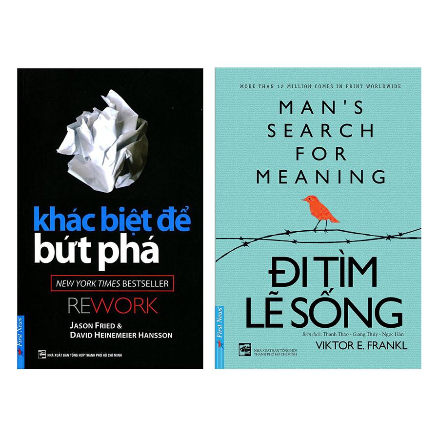 Combo Khác Biệt Để Bứt Phá + Đi Tìm Lẽ Sống (2 cuốn) - 1925969 , 4545259908852 , 62_14764316 , 174000 , Combo-Khac-Biet-De-But-Pha-Di-Tim-Le-Song-2-cuon-62_14764316 , tiki.vn , Combo Khác Biệt Để Bứt Phá + Đi Tìm Lẽ Sống (2 cuốn)