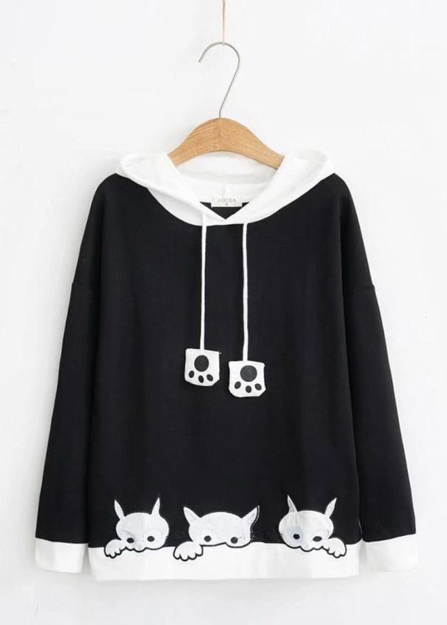 Áo Khoác Hoodie  Mèo Xinh 761