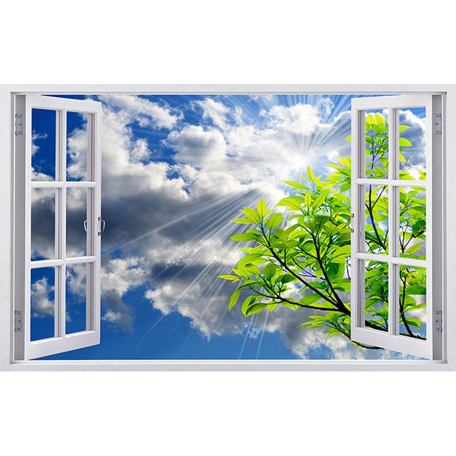 Tranh cửa sổ 3d| Tranh dán tường cửa sổ phong cảnh 3d 337 - 1218269 , 7092358783462 , 62_5186651 , 450000 , Tranh-cua-so-3d-Tranh-dan-tuong-cua-so-phong-canh-3d-337-62_5186651 , tiki.vn , Tranh cửa sổ 3d| Tranh dán tường cửa sổ phong cảnh 3d 337