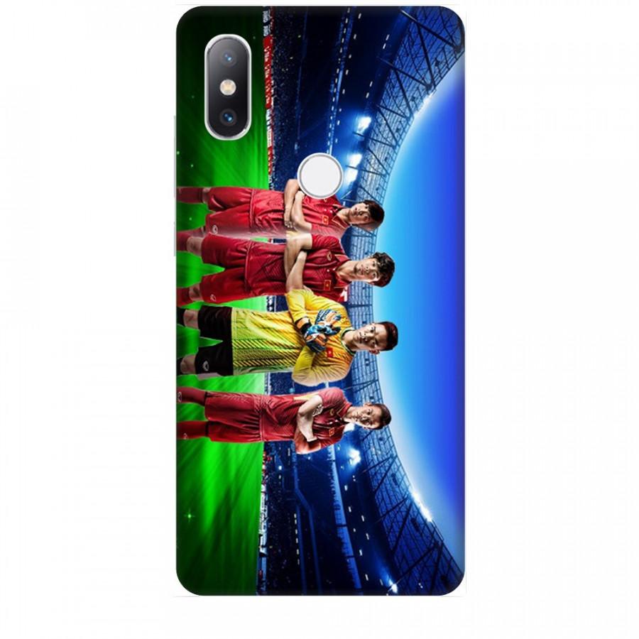 Ốp Lưng Dành Cho Xiaomi Mi Mix 2S AFF Cup - Đội Tuyển Việt Nam Mẫu 2