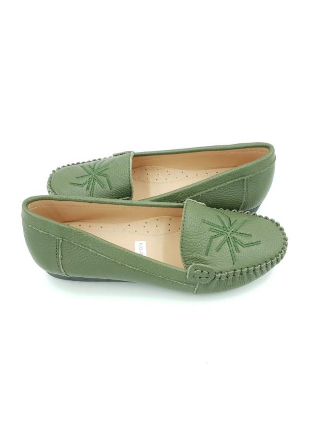 Giày mọi nữ da bò Hải Nancy 32BA7R