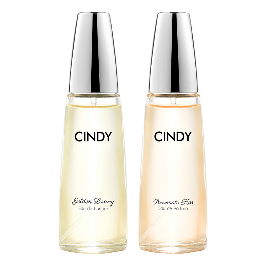 Bộ nước hoa Cindy 50ml (Golden Luxury + Passionate Kiss)