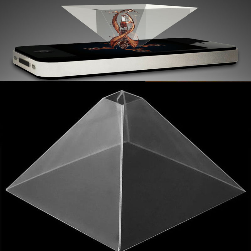 "3D Holographic Display Pyramid Projector Video For 3.5-6.5"" Mobile Smart Phone - 790120 , 5844185323357 , 62_12381311 , 235000 , 3D-Holographic-Display-Pyramid-Projector-Video-For-3.5-6.5-Mobile-Smart-Phone-62_12381311 , tiki.vn , 3D Holographic Display Pyramid Projector Video For 3.5-6.5"" Mobile Smart Phone"