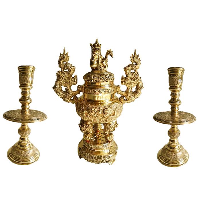 Bộ tam sự tròn 3 món lư hương đỉnh đồng đồ thờ phụng Tâm Thành Phát - 1159120 , 6421313032238 , 62_7434043 , 13000000 , Bo-tam-su-tron-3-mon-lu-huong-dinh-dong-do-tho-phung-Tam-Thanh-Phat-62_7434043 , tiki.vn , Bộ tam sự tròn 3 món lư hương đỉnh đồng đồ thờ phụng Tâm Thành Phát
