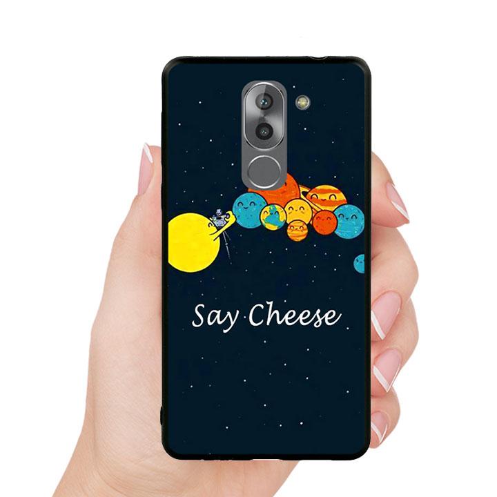 Ốp lưng viền TPU cho Huawei Y6ii - Say Cheese