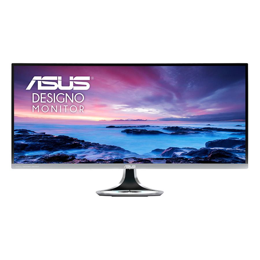 Màn Hình Cong Thiết Kế Đồ Họa Asus Designo MX34VQ 34 inch 2K Ultra Wide (2048 x 1080) 4ms 100Hz Tích Hợp Sạc Không Dây Qi Loa...