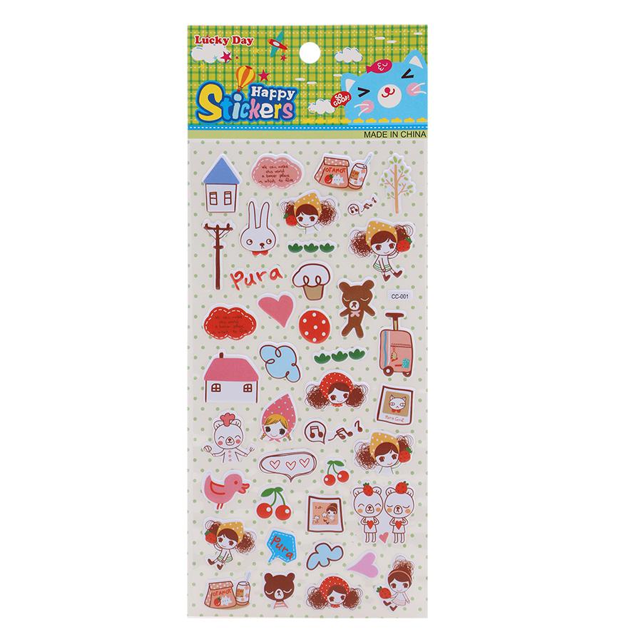 Sticker Dán Nổi Cho Bé - CC001