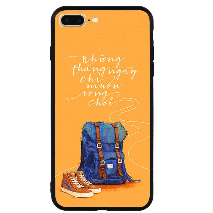 Ốp lưng viền TPU cao cấp cho Iphone 7 Plus - Tháng Ngày Rong Chơi