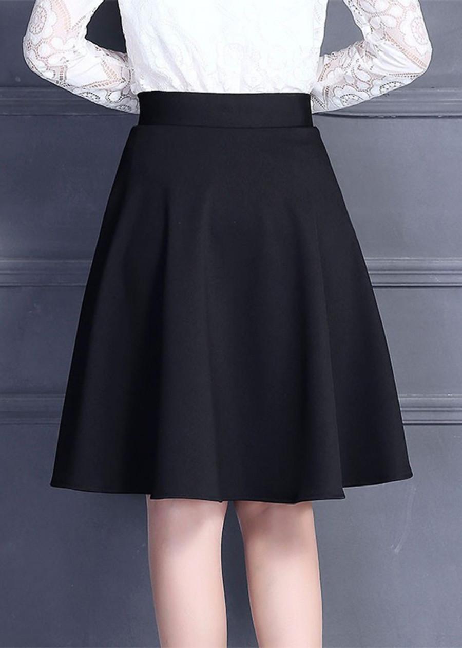 Chân váy xoè hai túi dáng Hàn Quốc