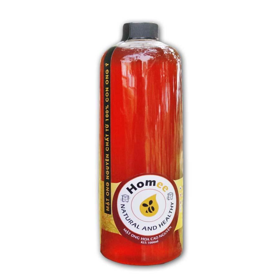 Mật ong nguyên chất Hoa Cao Nguyên HOMEE - Nguyên chất từ con ong Ý - 1800166 , 3710587615272 , 62_9819860 , 349000 , Mat-ong-nguyen-chat-Hoa-Cao-Nguyen-HOMEE-Nguyen-chat-tu-con-ong-Y-62_9819860 , tiki.vn , Mật ong nguyên chất Hoa Cao Nguyên HOMEE - Nguyên chất từ con ong Ý