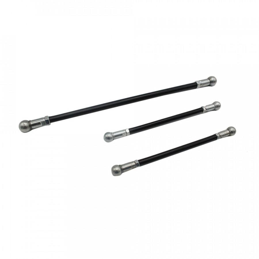 Gear Linkage Push Rods 3pcs Kit for Peugeot 106 Citroen Saxo 91-04