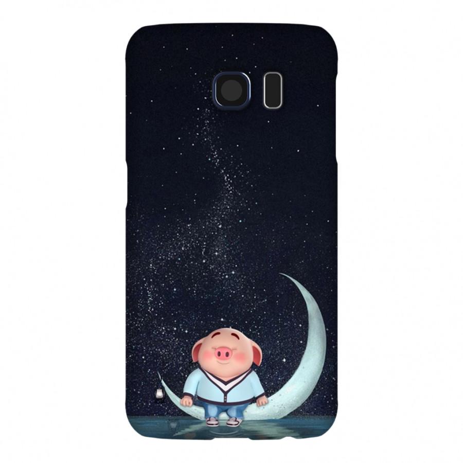 Ốp Lưng Cho Điện Thoại Samsung Galaxy S6 - Mẫu heocon 015