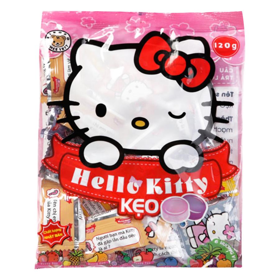 Kẹo Ngậm Hello Kitty Eikodo Hương Trái Cây 120g