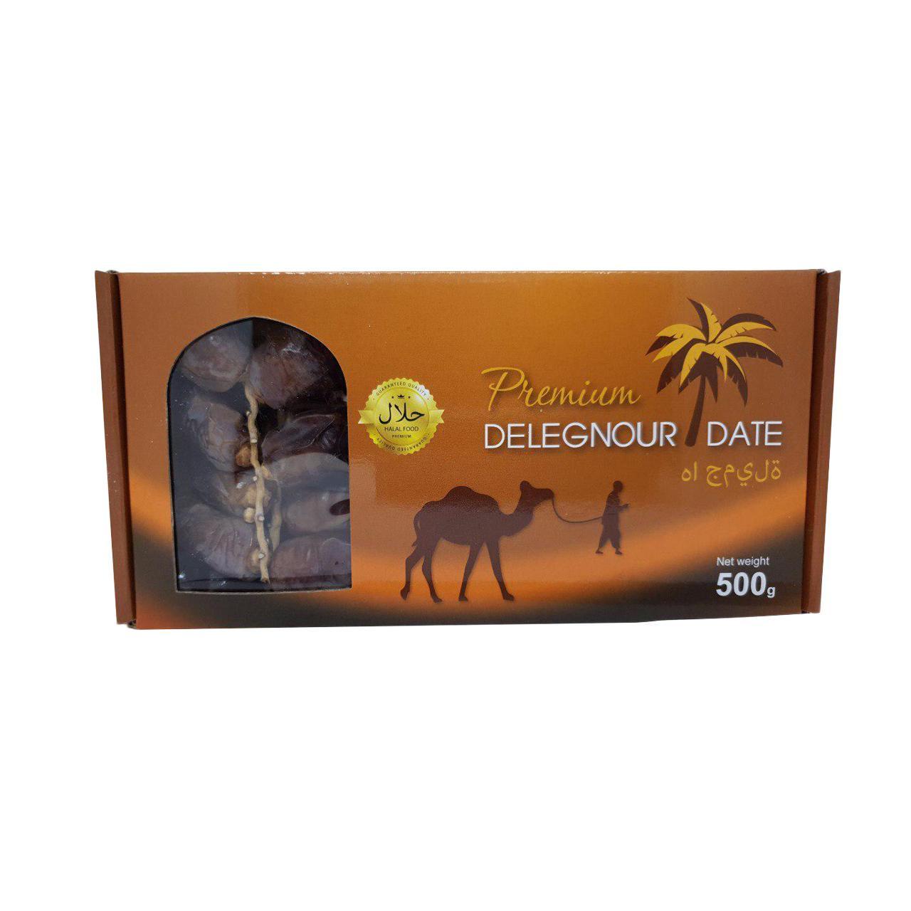 Chà là nguyên cành Premium Delegnour Date 500g