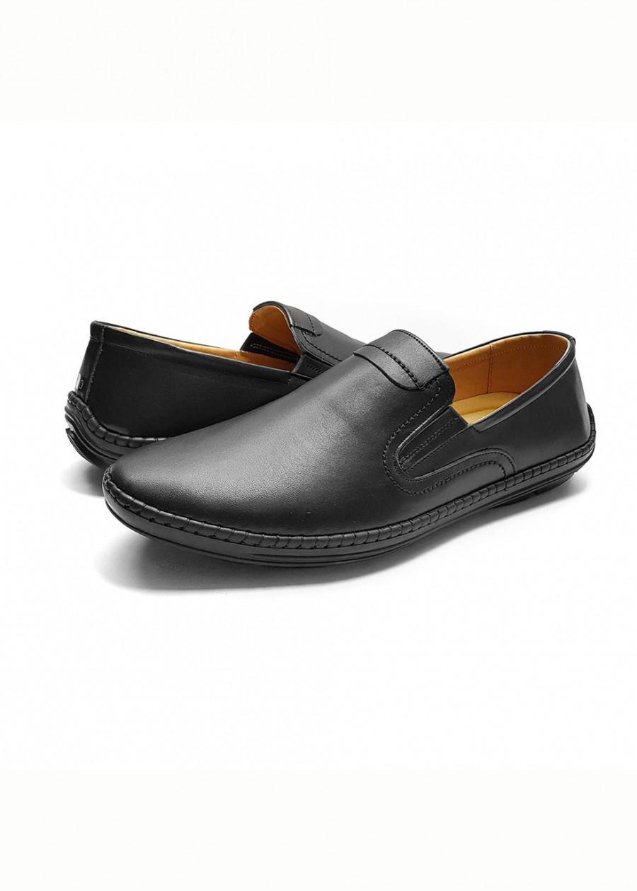 Giày lười nam cao cấp đẹp đế cao su đúc thời trang da bò thật GL-08 màu đen - 2314425 , 1367902515971 , 62_14904110 , 579000 , Giay-luoi-nam-cao-cap-dep-de-cao-su-duc-thoi-trang-da-bo-that-GL-08-mau-den-62_14904110 , tiki.vn , Giày lười nam cao cấp đẹp đế cao su đúc thời trang da bò thật GL-08 màu đen