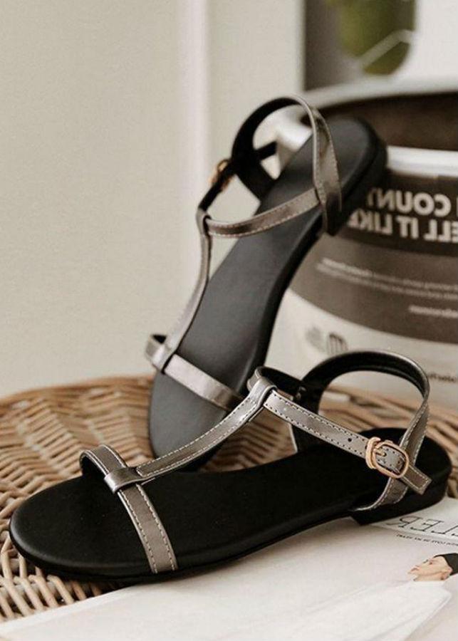 Giày Sandal Nữ Chữ I 9Ly Rosa