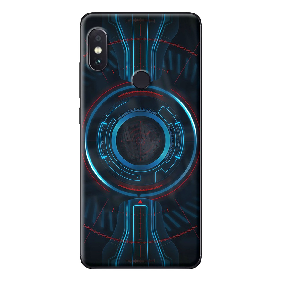 Ốp Lưng Dành Cho Xiaomi Redmi Note 5 Vòng tròn xanh
