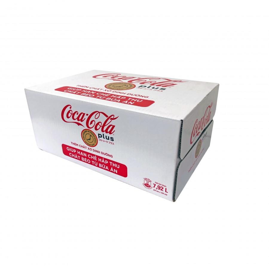 Thùng 24 Lon Nước ngọt có ga Coca-Cola Plus lon ( 330ml x24) - 18528467 , 18935049501746 , 62_20100084 , 254000 , Thung-24-Lon-Nuoc-ngot-co-ga-Coca-Cola-Plus-lon-330ml-x24-62_20100084 , tiki.vn , Thùng 24 Lon Nước ngọt có ga Coca-Cola Plus lon ( 330ml x24)