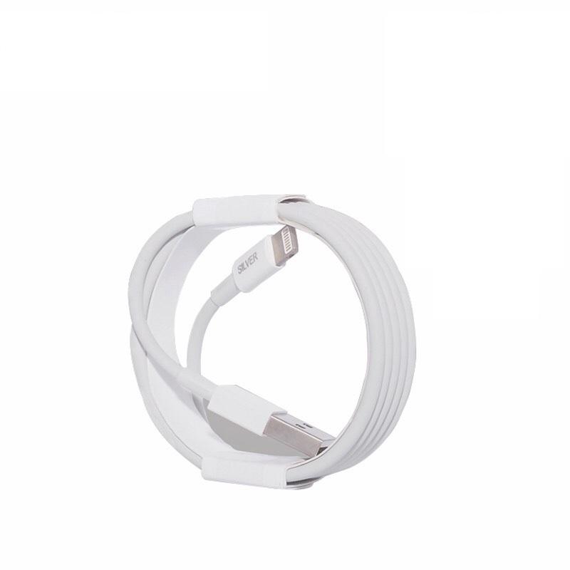 Cáp sạc Vikopa Lightning Silver dành cho Iphone ipad - Hàng Chính Hãng