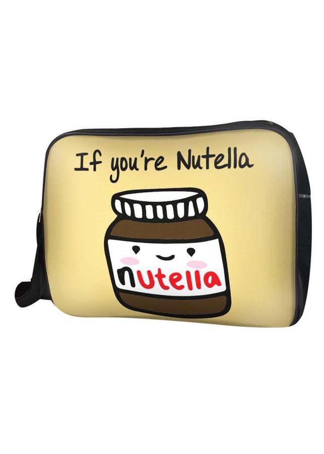 Túi Đeo Chéo Hộp Unisex Hũ Nutella - Tccp138