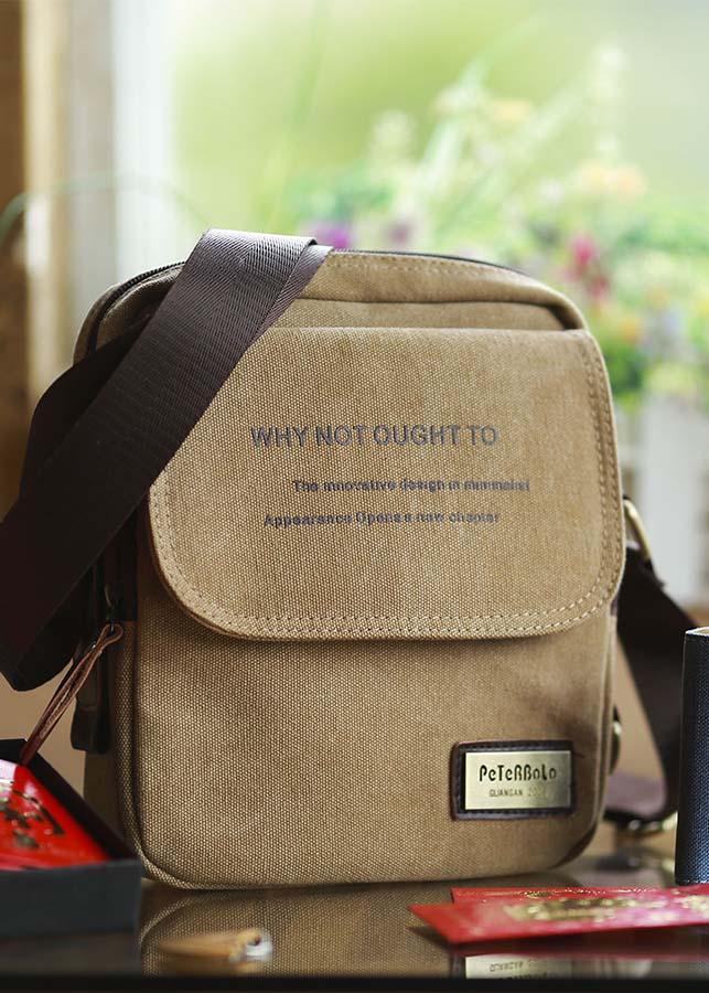 Túi đeo chéo, túi xách nam vải canvas cao cấp - DB04 cỡ nhỏ - 854416 , 9242828661563 , 62_14179479 , 349000 , Tui-deo-cheo-tui-xach-nam-vai-canvas-cao-cap-DB04-co-nho-62_14179479 , tiki.vn , Túi đeo chéo, túi xách nam vải canvas cao cấp - DB04 cỡ nhỏ