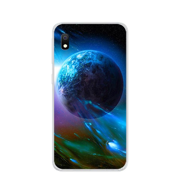 Ốp lưng dẻo cho điện thoại Samsung Galaxy A10 - 0290 UNIVERSE - Hàng Chính Hãng