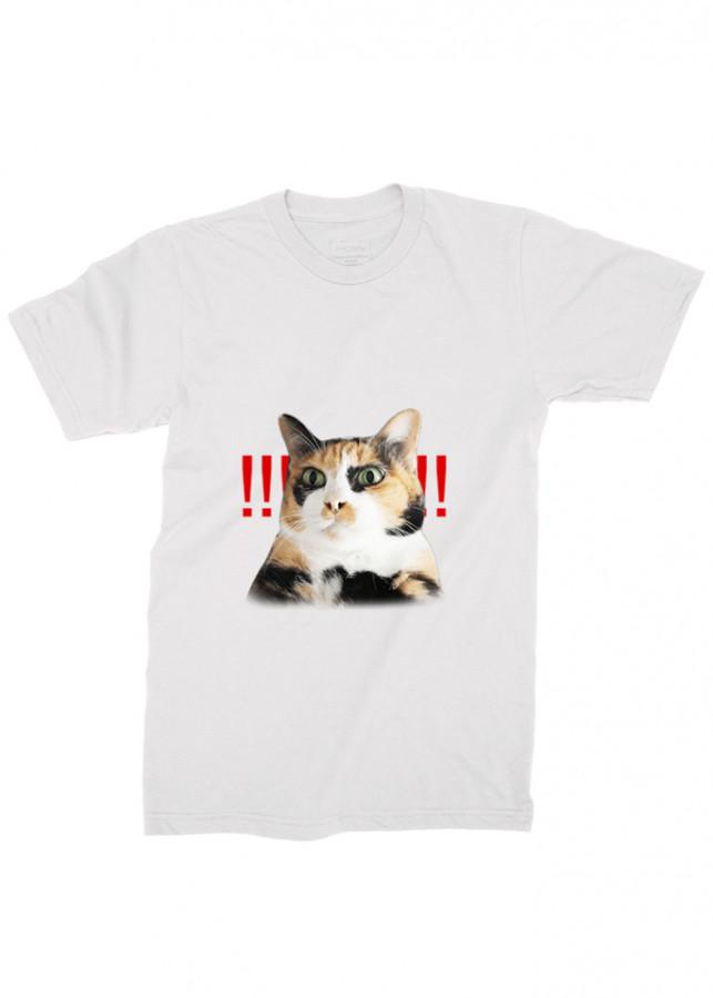 áo thun nam sticker , áo thun mèo d13