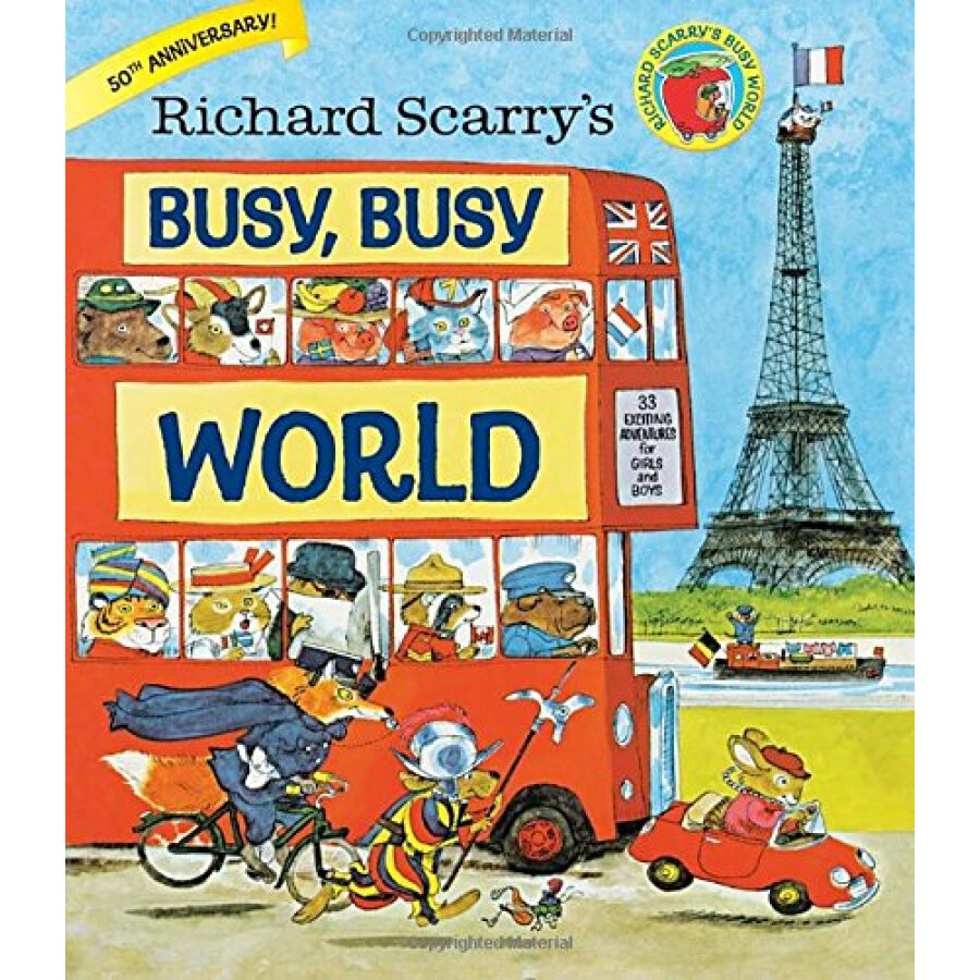 Richard Scarrys Busy, Busy World