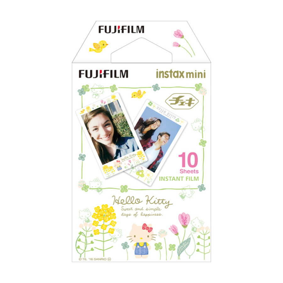 Hộp Phim Fujifilm Instax Mini Hoạ Tiết HelloKitty Vẽ Bằng Tay
