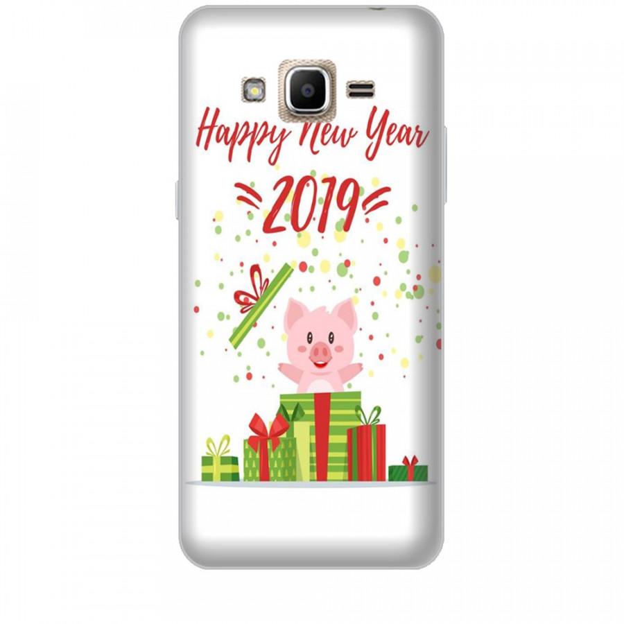 Ốp lưng dành cho điện thoại  SAMSUNG GALAXY J2 PRIME Happy New Year Mẫu 3