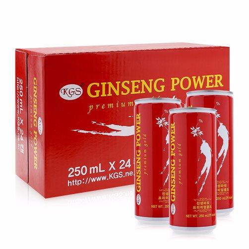 Nước Hồng sâm Ginseng Power KGS Hàn Quốc ( 24 lon*250ml) - 945701 , 1863670606106 , 62_8430676 , 370000 , Nuoc-Hong-sam-Ginseng-Power-KGS-Han-Quoc-24-lon250ml-62_8430676 , tiki.vn , Nước Hồng sâm Ginseng Power KGS Hàn Quốc ( 24 lon*250ml)